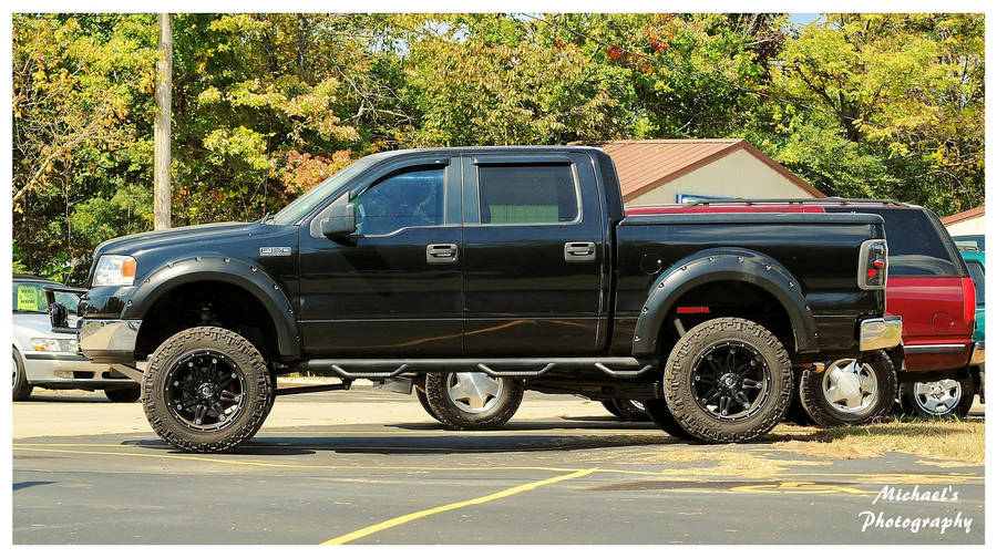 A Ford F 150 4x4 4 Door Truck By Theman268