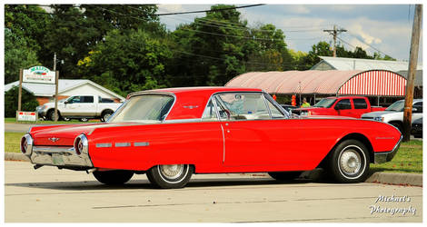 A  Hot Red 1962 Ford Thunderbird by TheMan268