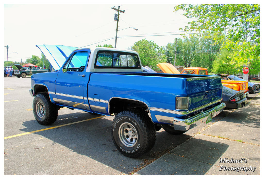 A 1981 Chevy 4x4 Pickup Truck By TheMan268