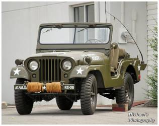 A U.S. Army Jeep by TheMan268