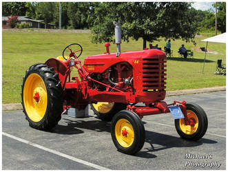 A 1946 Massey Harris #44 Tractor by TheMan268