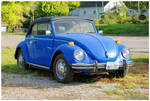 A Blue VW Beetle by TheMan268