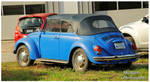 A Blue VW Beetle Convertible by TheMan268