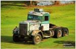 A Vintage Peterbilt Rustin' Away by TheMan268