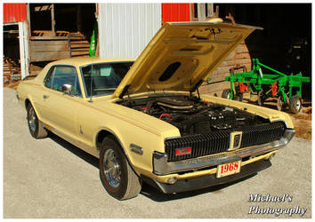 A 1968 Mercury Cougar Cobra Jet by TheMan268