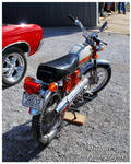 A 1972 Honda CL70 Motorcycle by TheMan268