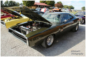 A Green Dodge Charger R/T by TheMan268