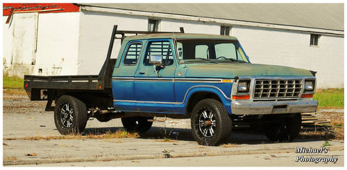 A Ford F-150 Flatbed Pickup by TheMan268