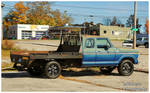 A Ford F-150 4x4 Extended Cab Flatbed Pickup by TheMan268
