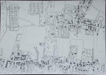 Plan d'Hermeray-Amblaincourt by Cartoria