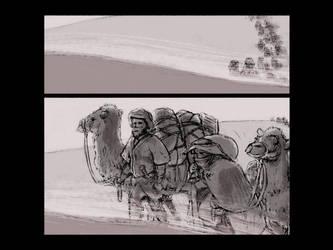 Myst: Book of Atrus Comic - Page 1 by larkinheather
