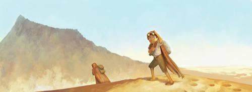 Myst Comic Vol 1 Cover by larkinheather