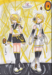 Rin kagamine Append by hyunshan