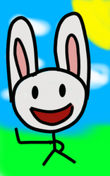 Happy Bunny by DJFLuFFy-vs-joe