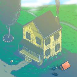 Dream House by tiredsloth