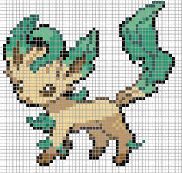Leafeon by Hama-Girl