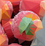 Abstract Art : Fruits : Peach by kenkchow