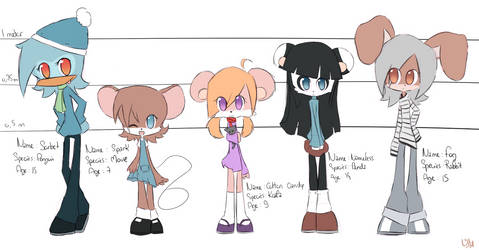 Sonic FC's by GrumpyBuneary