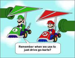 Mario Kart 7 by T-3000