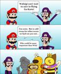 Mario Kart 7: Waluigi by T-3000