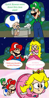 Why Peach Goes First by T-3000