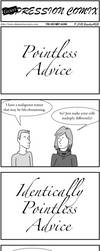 DepCom Guest Comic: Pointless Advice by Brochu4628