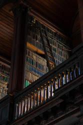 Book Shelf Old Library Trinity College Dublin by advdiaboli
