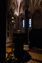 Baptistry - Christ Church Cathedral Dublin by advdiaboli