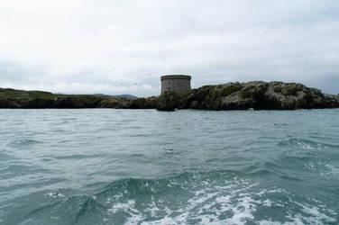 Martello Tower Ireland's Eye II by advdiaboli