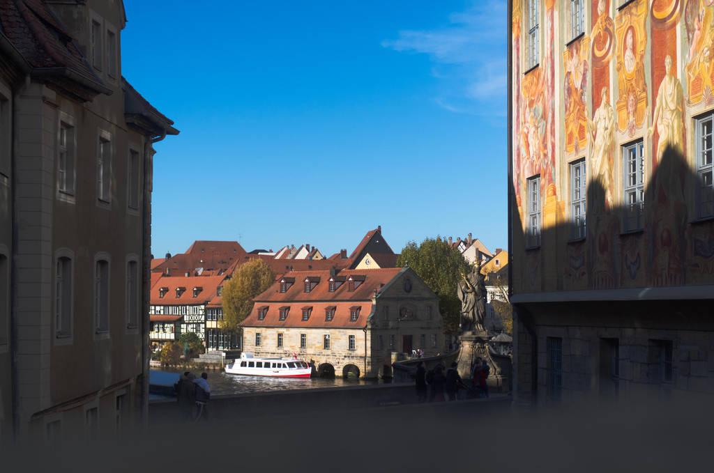 View down the Regnitz by advdiaboli