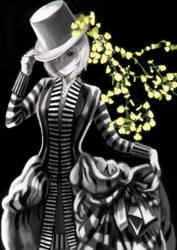 Striped Dress by MABLEX