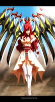 Fairy Tail 431 - Erza Scarlet new Armor by StingCunha