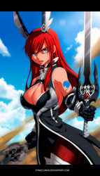 Erza Scarlet New Armor by StingCunha