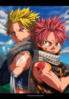 Dragon Slayers - Sting and Natsu by StingCunha
