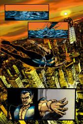 Dark Avengers page 01 color by gleidsonaraujo