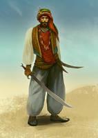Arabian/practice by TeslaRock
