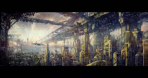 concept 02   Sky bridge by phoenix-feng