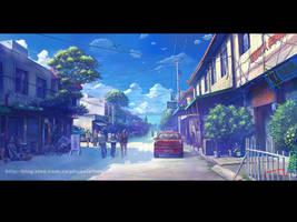 Street in memory 03 by phoenix-feng