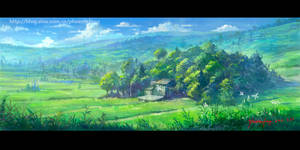 Village in memory2 by phoenix-feng