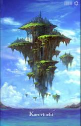 Floats city 'Karovinchi' by phoenix-feng