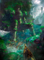 The Rock Giants by phoenix-feng
