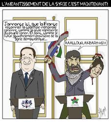 Allou Akbar la coalition syrienne! by wunderbach
