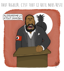 Hommage a Dieudonne by wunderbach