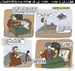 L'histoire de la torah by wunderbach