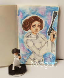 Princess Leia by nVegart