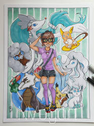 Mi equipo Pokemon by nVegart