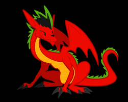 american dragon by gobixhoukou