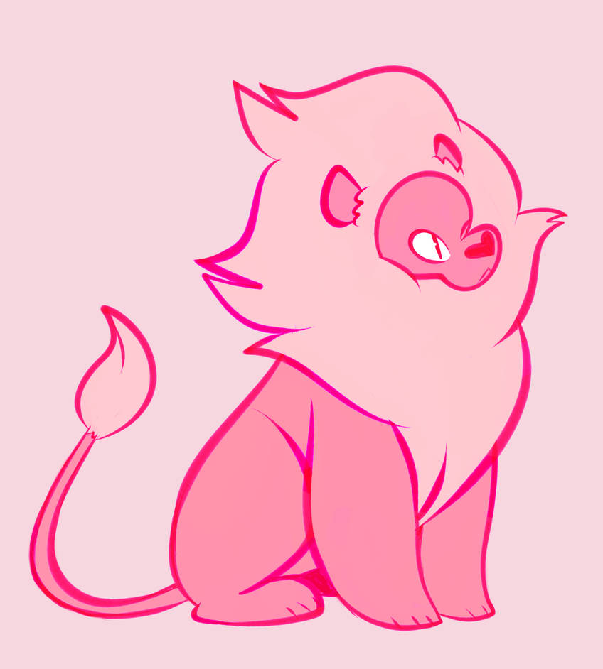 I love lion (and Garnet) uwu