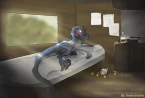 Tequraptor Margasaur by UmbraScythe