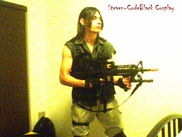 Carlos Oliveira Resident Evil 3 Nemesis Cosplay By Steven Codeblack